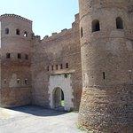Vista sulla Porta Asinaria
