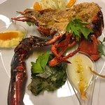 Aragosta gratinata - Gratinated lobster