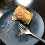 OMG - This Greek Custard Pie was SOOOO good, it was almost gone before I remembered to take a ph