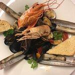 Scialatielli Don Giovanni ai frutti di mare - Homemade scialatielli Don Giovanni with seafood