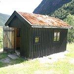 Sambandshytta som användes på Hardangervidda