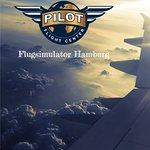 Pilot Flight Center over the sky