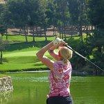 Lady on tee 11 | XI Torneo Casino Torrequebrada 2018 @ Golf Torrequebrada