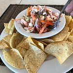 Shrimp, Lobster, and Octopus Ceviche