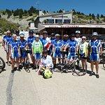 Groupe de cyclos, région Alsace