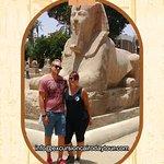 alabaster sphinx in Memphis