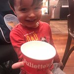 My son, Romeo loved his gelato from Juliette's