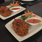 Bangkok Heightz Corn and Chilli starters