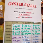 Oyster Stacks Photo