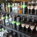 Large selection of rums to purchase after tasting.