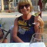 Yvonne at Sangria,royal.Sq.