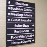 Hotel Amenities Signage