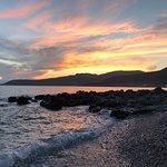 Sunset in Mani