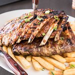 The Heights Slow Cooked Full Rack of Pork Ribs