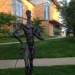 Sculpture outdoors