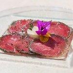 Beef Carpaccio /marjoram /sage/ thyme