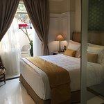 寝室。そして、テラス。