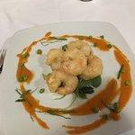 Gamberi in tempura....top...