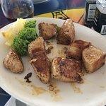 tuna bites grilled....no spice added