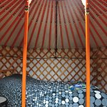 Little Orange Yurt
