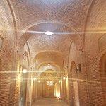 inside of the Caravanserai.