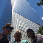 Excellent angles provided by Briant for group shots at the Freedom Tower!