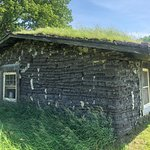 صورة فوتوغرافية لـ Sod House on the Prairie