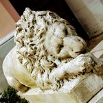 Скульптура льва. Натальвка.