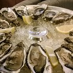 A selection of Oysters and the main bar