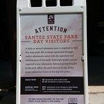 Bilde fra Santee State Park