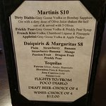 some Specialty drinks
