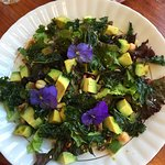 Salad with Toasted Kale