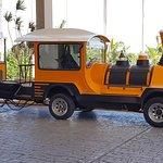 One type of many types of local transport. Blau Varadero