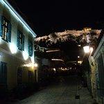 Le soir dans Athénes