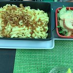 Käsespätzle mit Beilagensalat