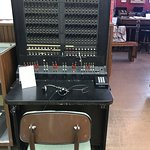 old manual switchboard