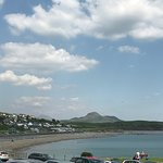 View across Criccieth Bay from Swn Y Mor