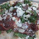 heerlijke pizza carpaccio