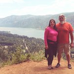 Cape Horn Overlook Panoramic View Of Columbia River Gorge