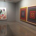 Two works by Frank Stella, decades apart