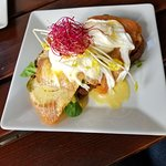 Salmon Eggs Benedict. Best Benedict I've had to date.