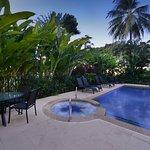 Evening Pool/spa photo