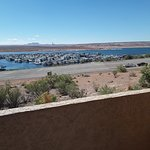 Lake Powell Marina from our room