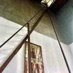 L'accès au clocher