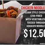 Grab a Chicken Noodle box to go from the 4211 Cafe