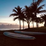 One of the best ways to start your day? Sunrise stand up paddle boarding session!
