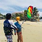 Kiteboarding is fun - try it!