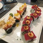 Lobster Maki and Red Dragon