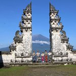 """""""Lempuyang Temple the Gate of heaven"""" located in east of Bali."""