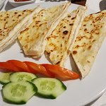 Cheese filled crepes